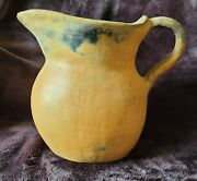 Catawba Indian Wood Fired Clay Pitcher