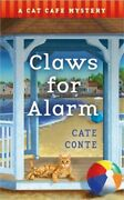 Claws For Alarm A Cat Caf� Mystery Paperback Or Softback