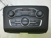 17 18 Dodge Charger Climate Heater Ac And Radio Control Panel Oem Lkq