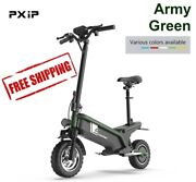 500w Electric Scooter 48v Folding Off Road Scooter With Dual Suspensions 49 Km/h