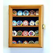 Xs Co Chip Coin Display Case Cabinet Holder Rack Box Holds Up To 20 Coins 98 …