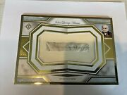 John Quincy Adams 6th President Signature Autograph Certified Topps