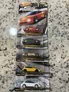 Hot Wheels Fast And Furious Fast Tuners Set