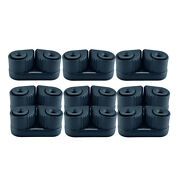 9pcs Kayak Cam Cleat Canoe Sailing Boat Dinghy Cleats Fast Entry For 3-12mm Rope