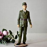 Vintage Lead Figurine - General Charles De Gaulle Military Collection Statuette