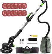 Drywall Sander, Ginour 6a 7 Variable Speed 1000-1800rpm Wall Sander With Vacuum