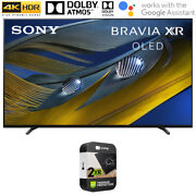 Sony Xr55a80j 55 A80j 4k Oled Smart Tv 2021 W/ 2year Extended Protection Plan