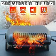 12v Dc Car Auto Heater Heating Cooling Fan Electric Portable Defroster Demister