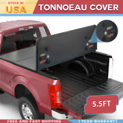 5.5ft Hard Tonneau Covers Solid Fit 09-14 Ford F-150 Truck Bed W/lamp 3-fold New