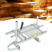 Portable Chainsaw Mill 20-24 Chain Saw Mill Aluminum Steel Planking Lumber