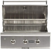 Coyote 34 C-series Built-in 3-burner Natural Gas Outdoor Grill - C2c34ng