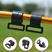 Tent Hook C Shaped Outdoor Plastic Pole Clips Tool Parts High Strength