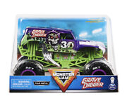 Spin Master Monster Jam 124 Grave Digger 30th Anniversary Hard To Find 2021