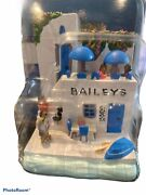 2002 Baileys By The Sea Series Greece 2 Hand Painted Kitchen Collectibles