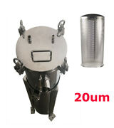 Stainless Filter Housing 2 Bag 2npt 100psi Water Ink Beverage Dealing Easy Use