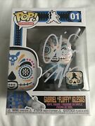 Funko Pop Gabriel Fluffy Iglesias Day Of The Dead Signed Excl Le 4000 In Hand
