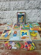 Vintage Sesame Street See And Sew People In Your Neighborhood Whitman 1978 Game
