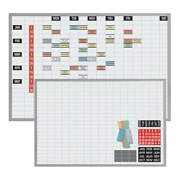 Magna Visual Ob-3648b Magnetic Work/schedule Kit48x36