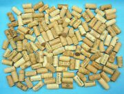 Natural Used Wine Corks Lot Of 150 - Various Fine Wine