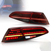 For Vw Golf 7 Mk7 Gti R7 Mk7.5 13-19 Led Tail Lights Sequential Brake Rear Lamps