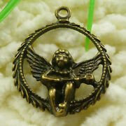 66 Pcs Bronze Plated Cupid Charms Pendant 31x25mm S1763 Diy Jewelry Making