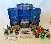 Skylander Lot Wii Game, Portal Of Power, 19 Characters, Tower Carry Case, 5card