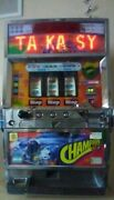 Japanese Pachislos Champion Cup Edition Pre-owned Token Slot Machine