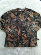 Ducks Unlimited Canada Menand039s Camo Long Sleeve Shirt Siz M Made In Mexico