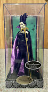 Disney Villains Designer Collection Doll Limited Edition Maleficent Display