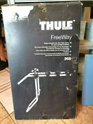 Thule 968 Strap Mounted Rear Door Bike Carrier For Easy Carriage 3 Bikes Sale