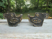 Wandp Rr Station Ornate Bench Stands Winchester And Potomac Railroad