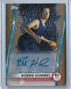 2020 Topps Olympics Robbie Hummel Gold Autograph Card 11/20 3 On 3 Hoops 2021