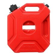 1.3gl 5l Pack W/lock Jerry Can Container For Off Road Atv Utv Jeep Red Us