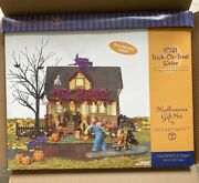 Department 56 Halloween 1031 Trick Or Treat Drive Lights Eerie Sounds Rip In Box