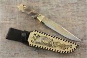 Author's Collection Knife Taganay Handmade From Steel 40x10c2m ЭИ-107