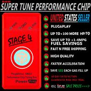 Fits-toyota 4runner 1996-2022 Super Obd2 Power Performance Chip Save Gas