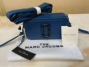 Marc Jacobs Snapshot Small Camera Bag Blue Monday 100 New With+ Tags