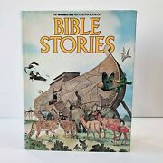 Rare The Women's Day All Colour Book Of Bible Stories Childrens Vintage Hc 1979