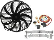 Champion Cooling Systems Tsfk16cblpk2 Turbo Series Puller Fan Kit Includes Cham