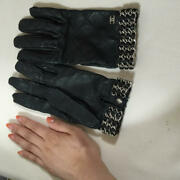 Globe Black Chain Glove The Real Thing Free Shipping No.8357