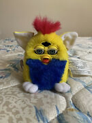 Original Furby Babies Yellow And Blue 1999 Tiger Electronics Toy