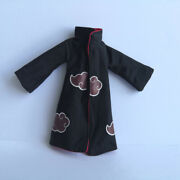 Uchiha Itachi 1/12 Coat Robe For Shf 6 In Action Figure Model Clothes Accessory