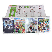 Nintendo Wii Fit Plus With Balance Board And Game Bundle Brand New Sealed