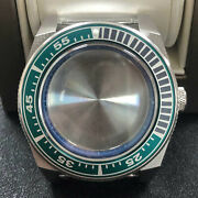 316l Steel Watch Case Inner Ring Sapphire Glass Case For Nh35/nh36 Movement