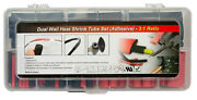 Pertronix A2010 Dual Wall Heat Shrink Tube Set 106 Pieces 1/8 In To 1/2 In. 3 In