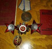 Authentic Wwii Military Medal Order Group