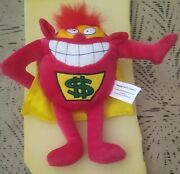 Press Your Luck - Plush Whammy Doll, In Mint Condition -game Show Network