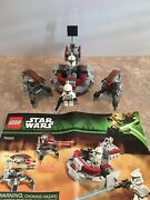 Lego Star Wars Clone Wars Set 75000 W/ 2 Roller Droids And 2 Lego Mini Figures