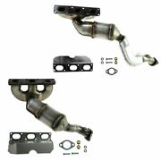 Dorman Exhaust Manifold With Catalytic Converter Front Rear Pair For Bmw