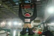 23ft Inflatable Black Gorilla Advertising Promotion With Blower